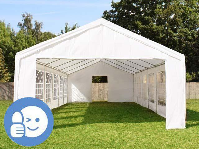 Zahradní párty stan STANDARD 4x8 m - bílá