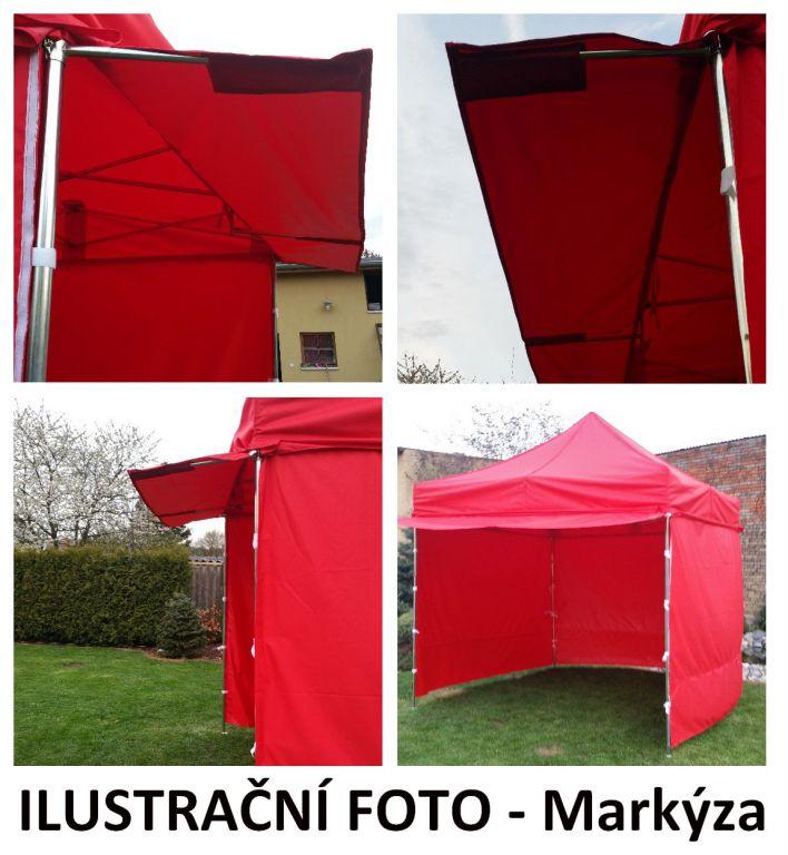 Zahradní párty stan PROFI STEEL 3 x 3 – smetanová