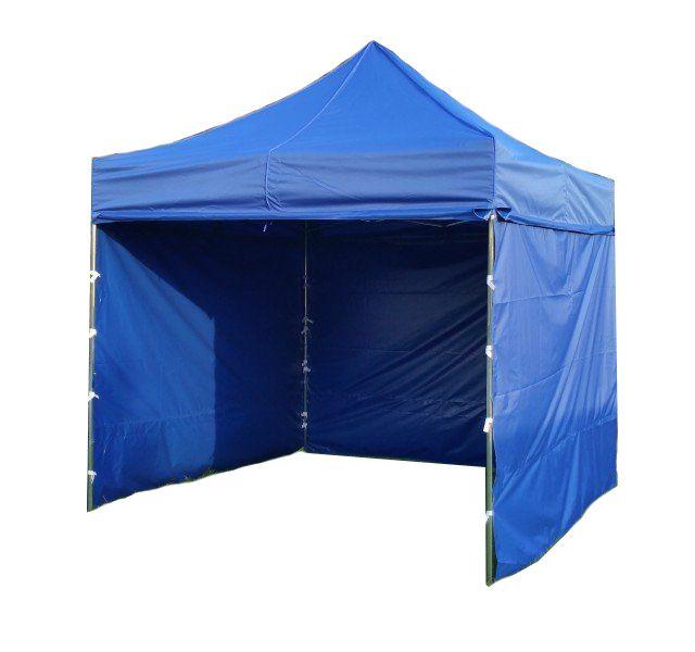 Zahradní párty stan PROFI STEEL 3 x 3 – modrá