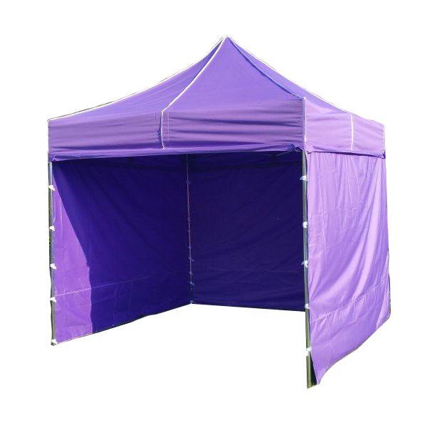 Zahradní párty stan PROFI STEEL 3 x 3 m – fialová