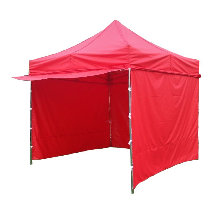 Zahradní párty stan PROFI STEEL - 3 x 3 m, červená