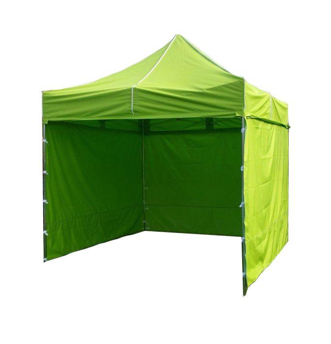 Zahradní párty stan PROFI STEEL 3 x 3 m - světle zelená