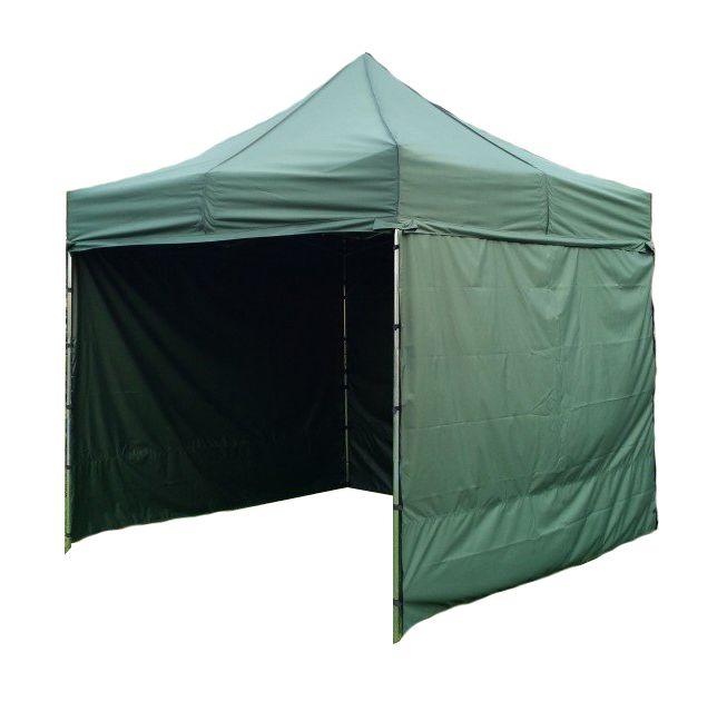 Zahradní párty stan PROFI STEEL 3 x 3 – tmavě zelená