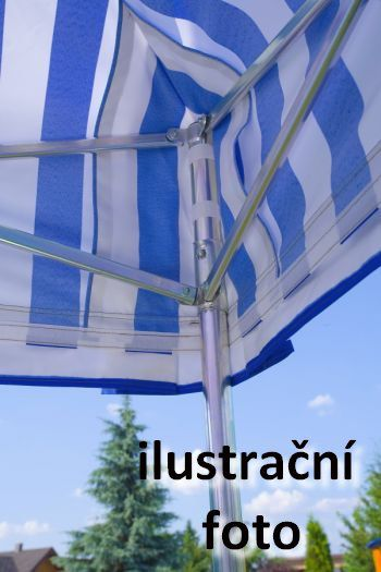 Zahradní párty stan PROFI STEEL 3 x 4,5 – modrá