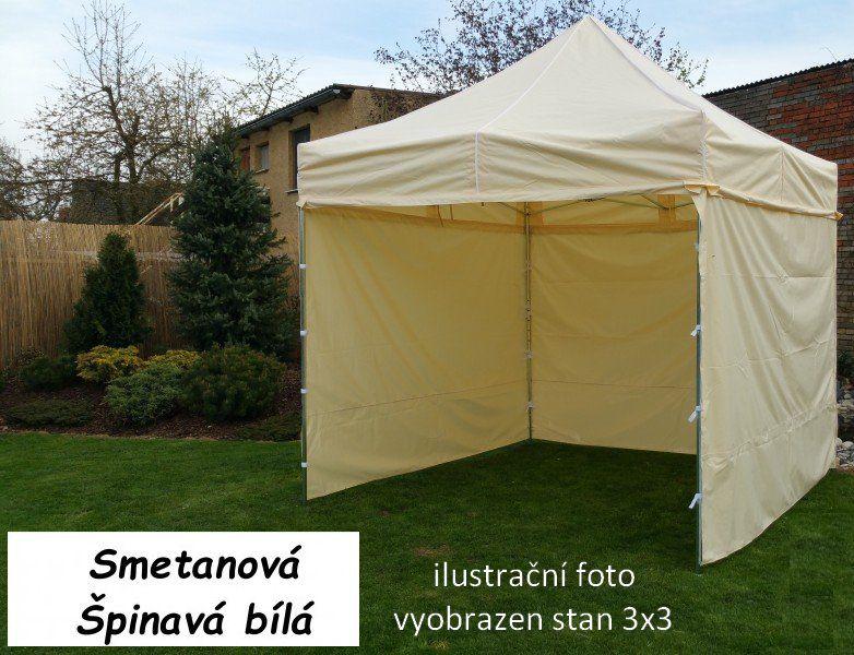 Zahradní párty stan PROFI STEEL 3 x 6 – smetanová