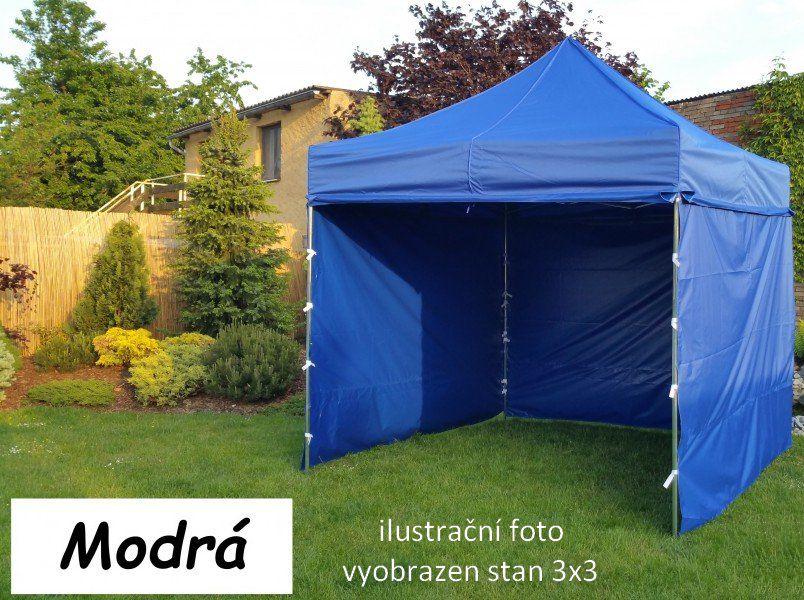 Zahradní párty stan PROFI STEEL 3 x 6 – modrá