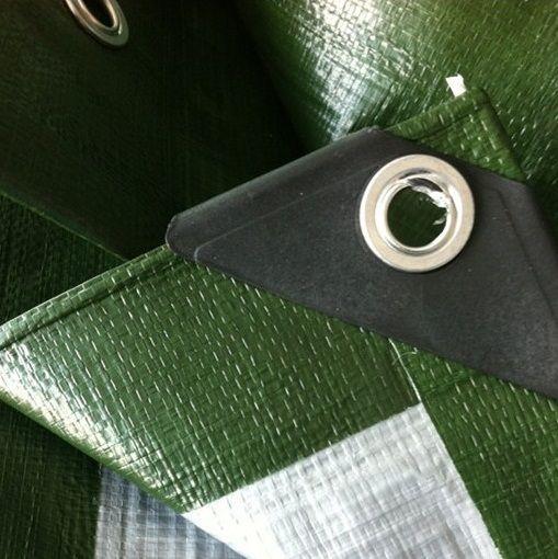 Krycí plachta s oky 8 x 10 m –  130 g/m2