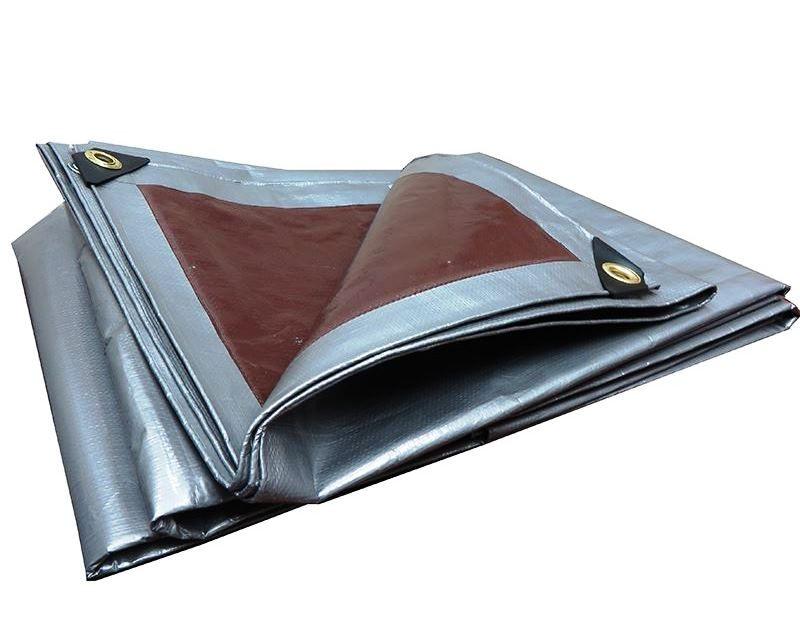 Krycí plachta s oky 4 x 6 m – 210 g/m2