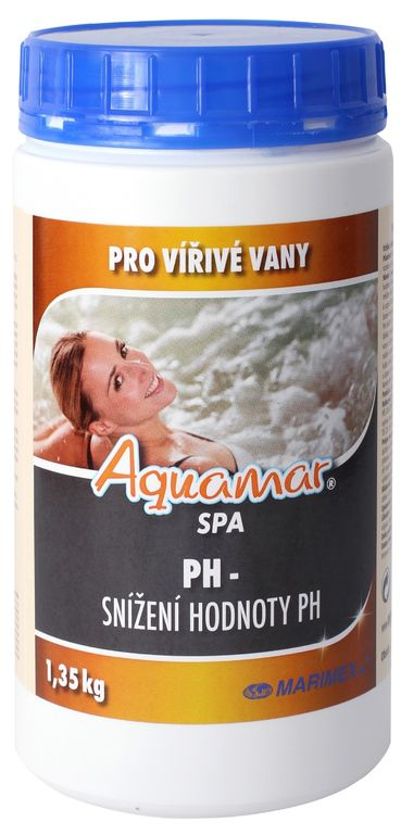 Marimex AquaMar Spa pH- 1,35 kg