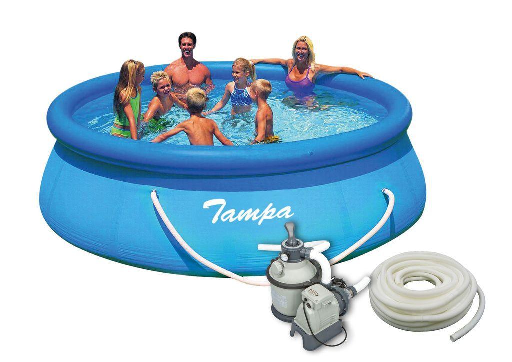 Bazén Tampa 3,66x0,91 m s pískovou filtrací Sand 4