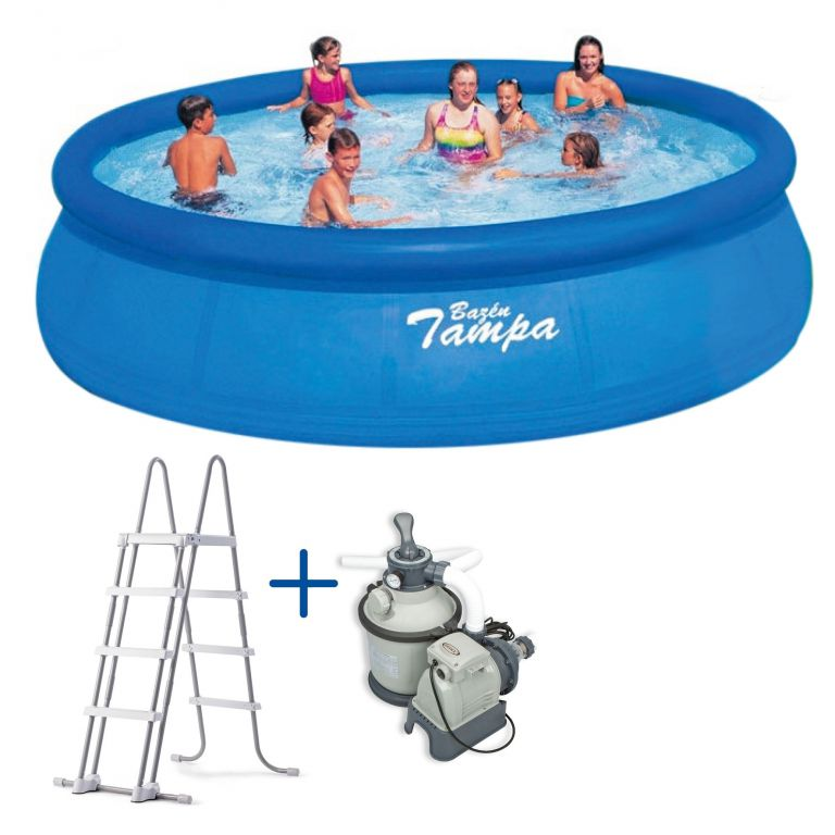 Bazén Tampa 4,57x1,22 m + kompletní příslušenství
