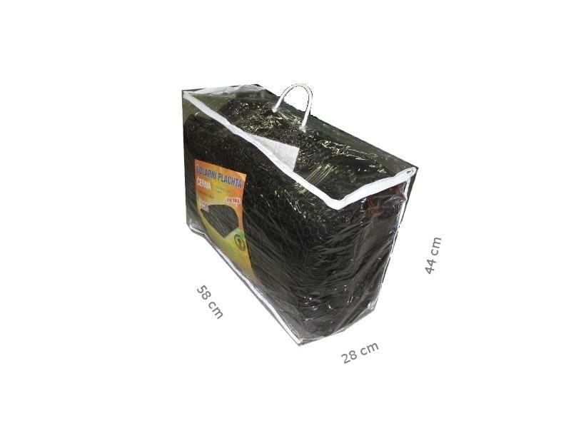 Solární plachta černá - průměr 3,66 m
