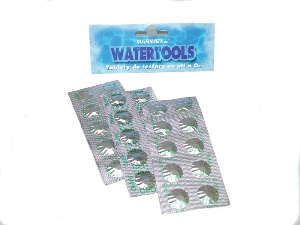 Tablety do testeru na měření O2