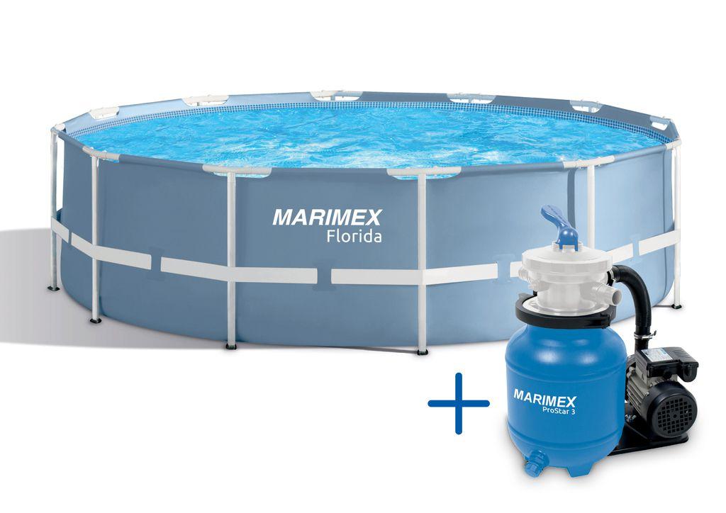 Marimex Florida 4,57x1,22 + PF ProStar 3 SET 10340142