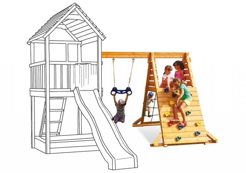 Přídavný modul pro dětské hřiště Play 005