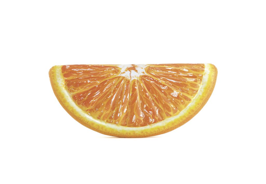 Lehátko nafukovací - pomeranč