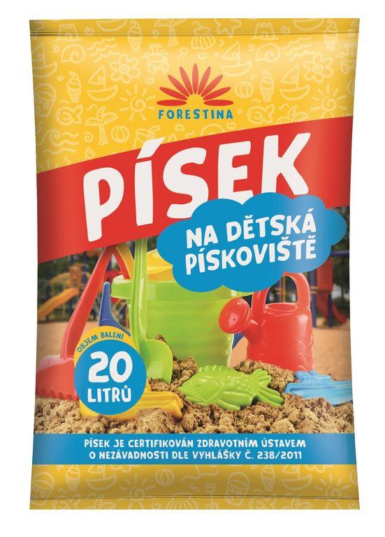 Písek pro dětská pískoviště – 20 Kg