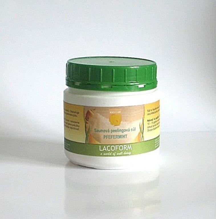 Sůl peelingová 500g – peppermint