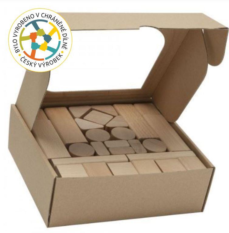 T-wood Kostky dřevěné - 50 ks