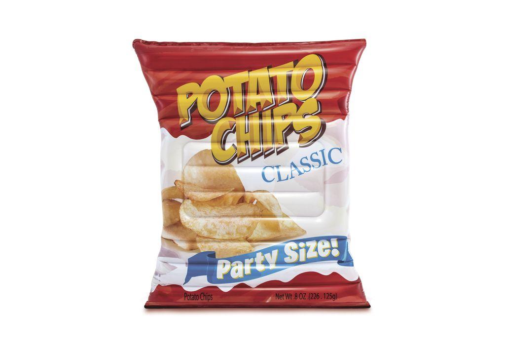 Nafukovací lehátko - Chipsy