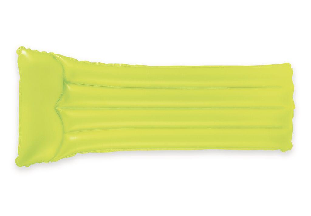 Nafukovací lehátko – neon