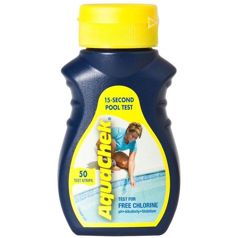 Pásky testovací AquaChek 4v1 Yellow (50ks)