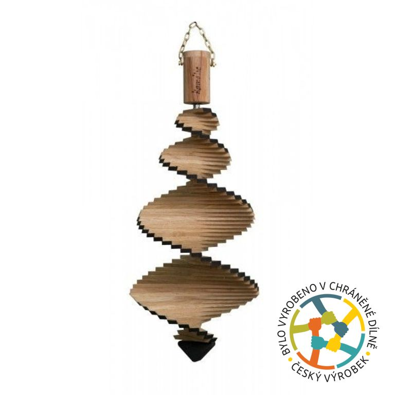 T-wood Spirála větrná - 40 cm