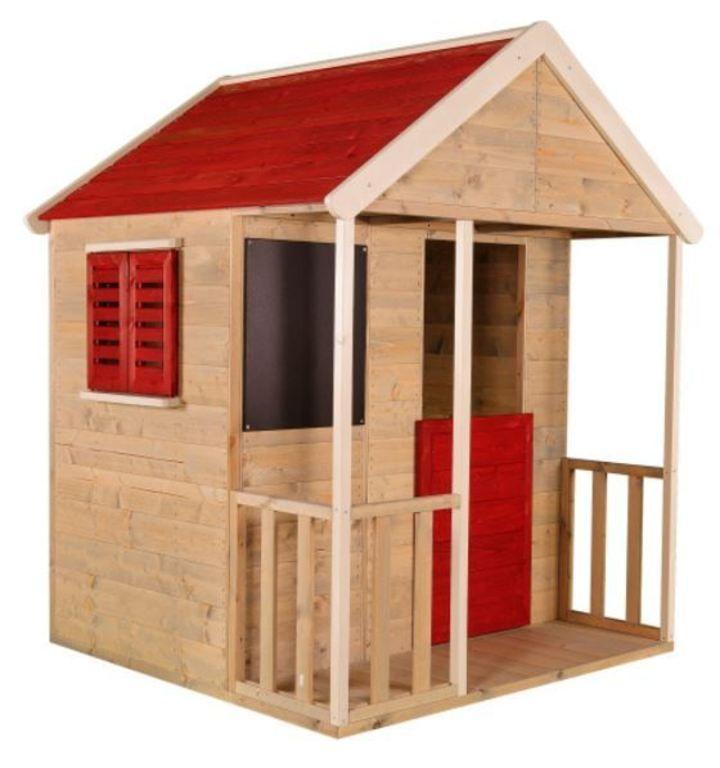 Domeček dětský dřevěný, Veranda