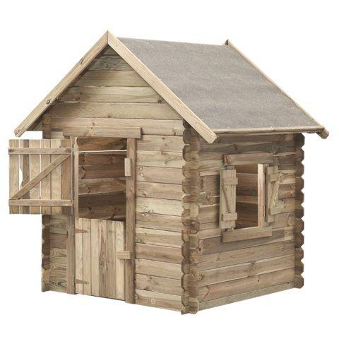 Domeček dětský dřevěný, Western