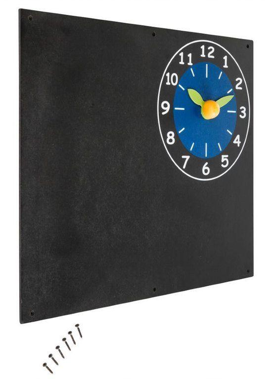 Dětská tabule s hodinami
