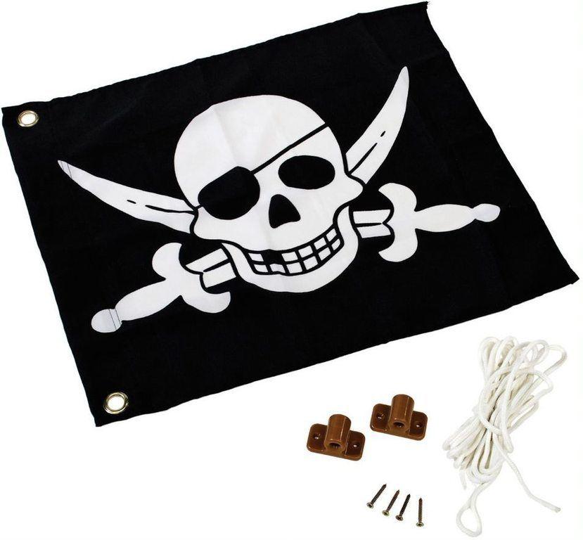Pirátská vlajka - 45 x 55 cm