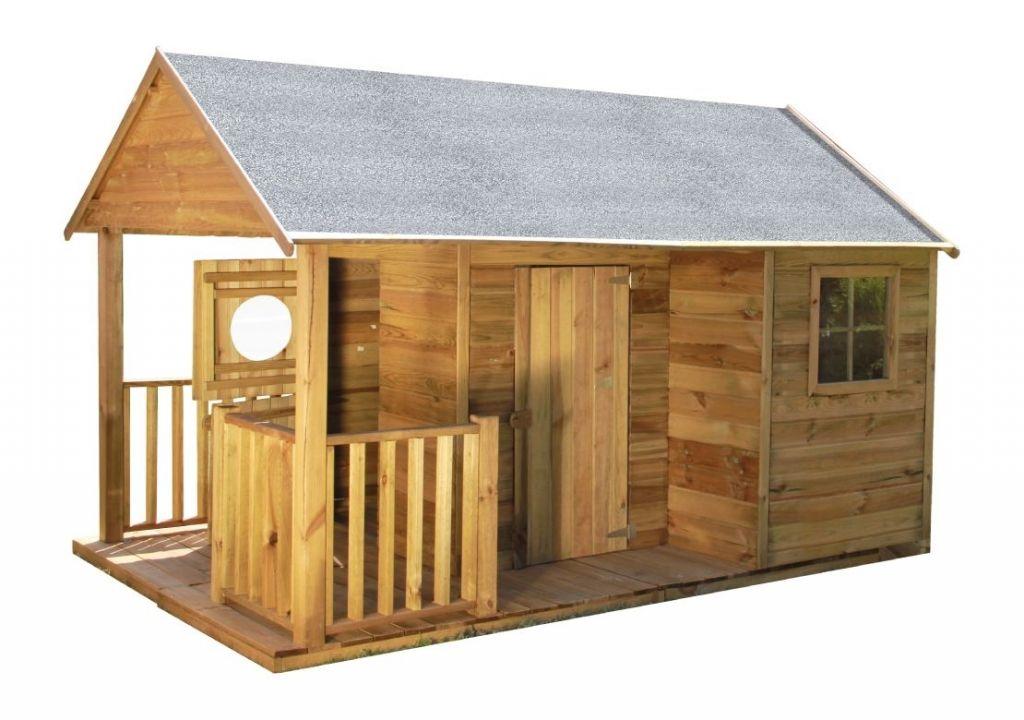 MARIMEX Domeček dětský dřevěný Farma, 270 x 171 x 170 cm