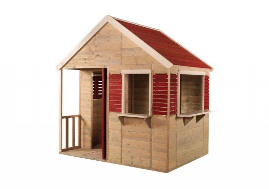 Dětský dřevěný domeček Letní vila, 155 x 168 x 120 cm