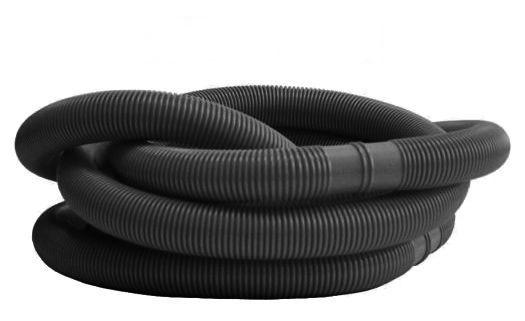 Bazénová hadice, 400 x 125 cm, černá
