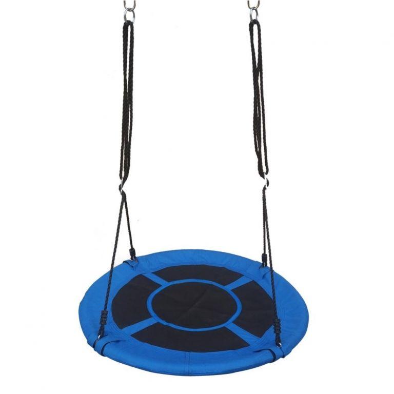 Marimex skládací houpací kruh, modro-černý