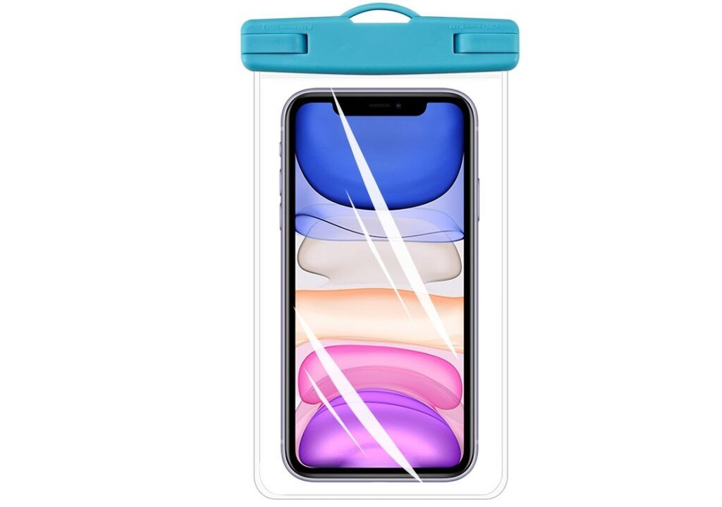 MARIMEX Voděodolný obal na mobil, 10,5 x 17,5 x 0,8 cm