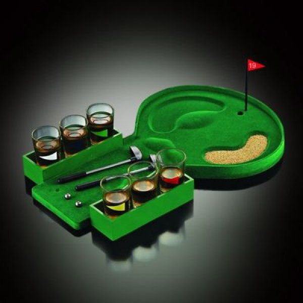 GOLF DRINKING GAME Hra Golf na eX