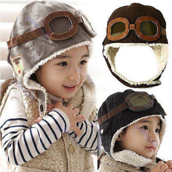 Čepice pilotka pro dětí