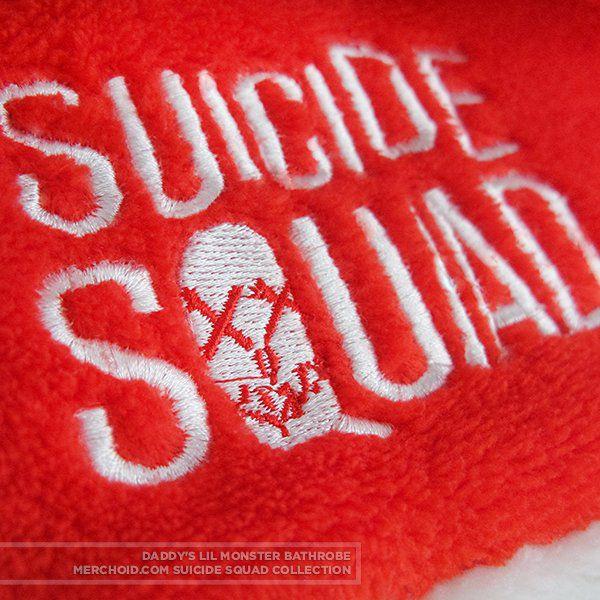 Dámský župan Suicide Squad – Harley Quinn