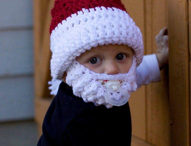 Dětská čepice Santa