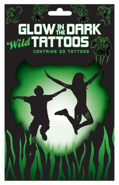 Divoké svítící tetování