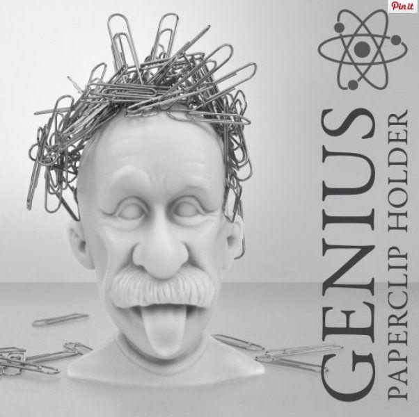 Držák na kancelářské svorky - Génius
