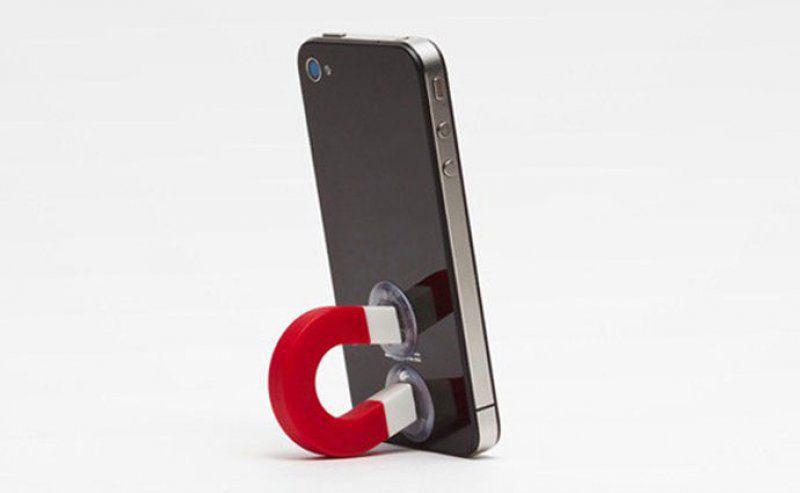 Držák telefonu magnet – černá