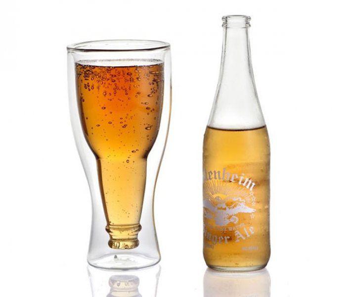 Dvojitá pivní sklenice, 350 ml