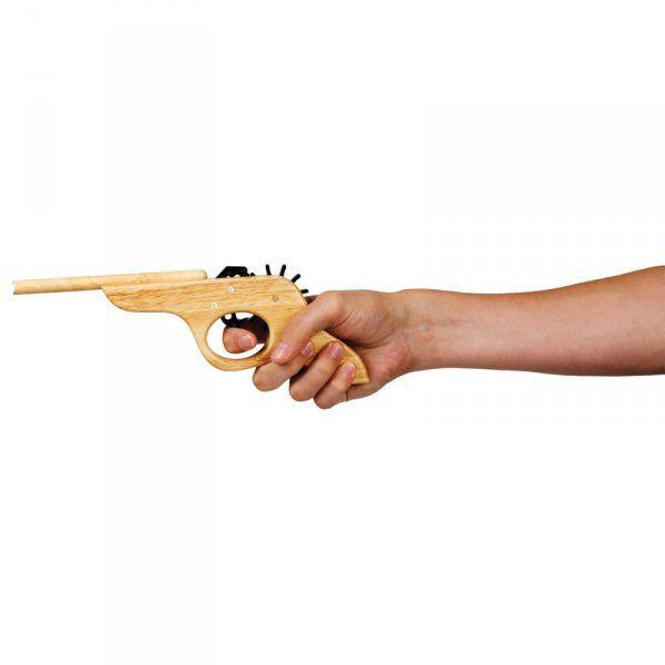 Gumičková pistole s terčem