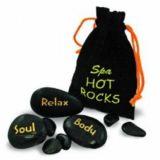 Horké kameny - černá