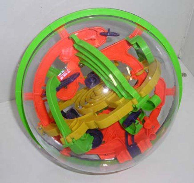 Intellect ball 118 překážek
