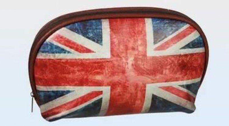 Kapsička na zip - Union Jack