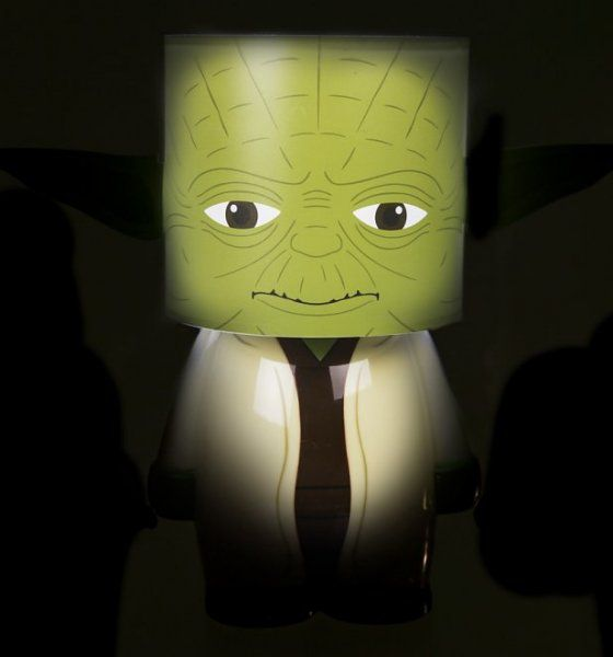 LED lampička Star Wars - Yoda