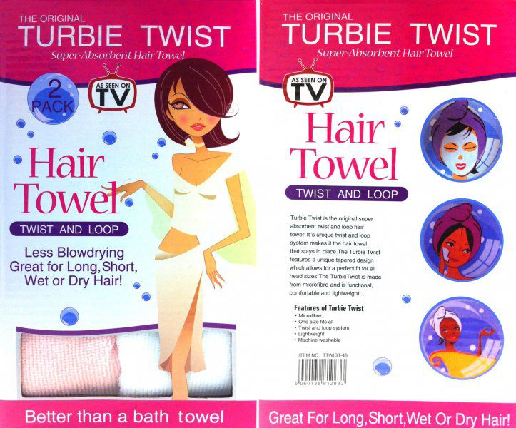Magický ručník na vlasy